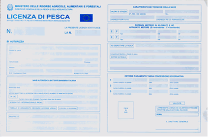 license-fishing-italy